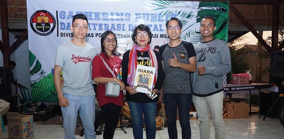Mahasiswa STFSP Juara Umum Lomba Video