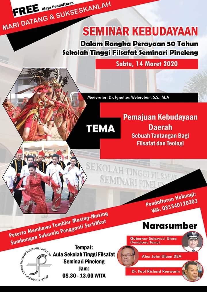 Seminar Kebudayaan 14 Maret