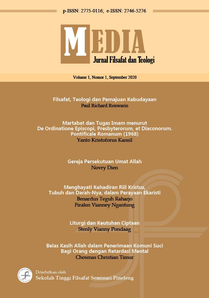 Media: Journal Filsafat dan Teologi