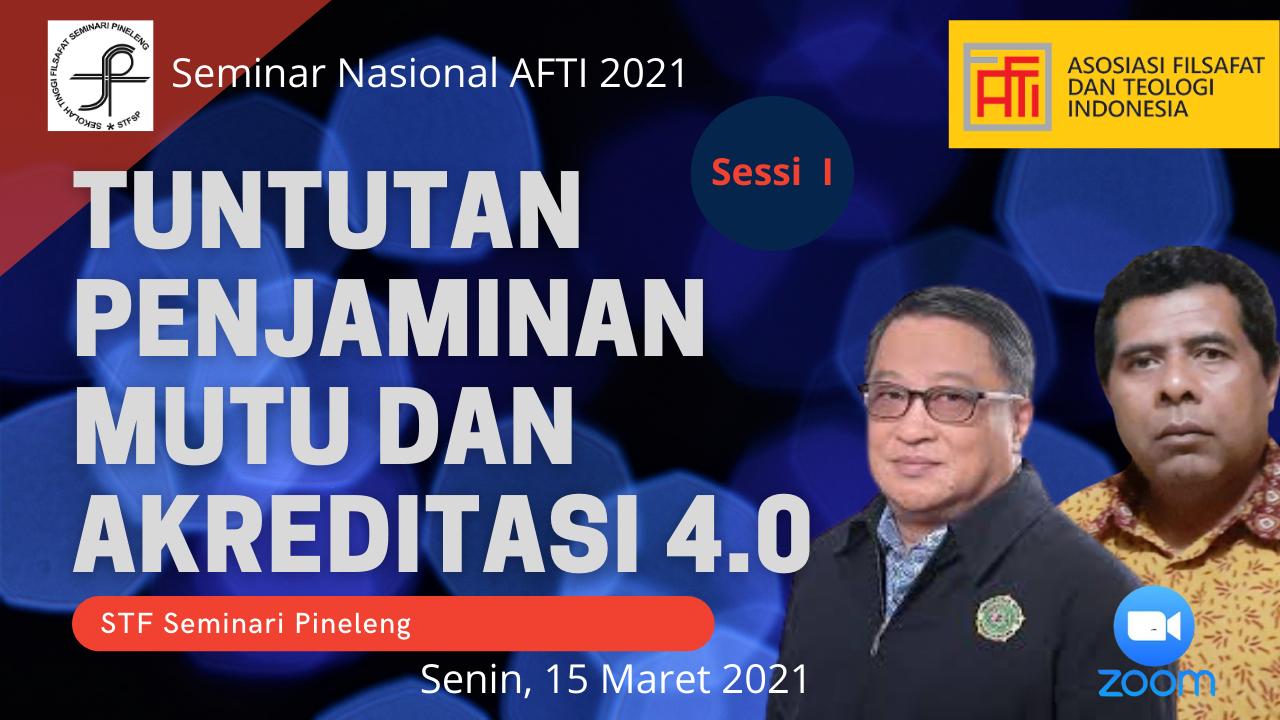 Seminar Nasional AFTI: Penjaminan Mutu